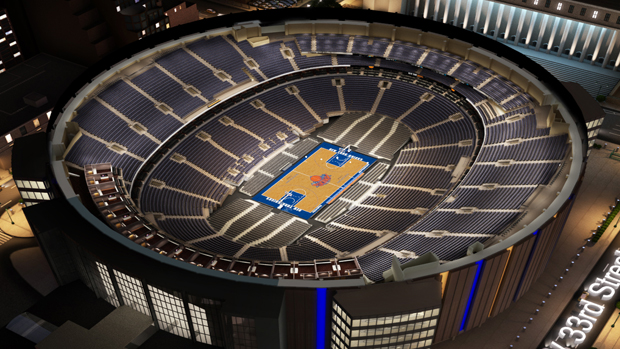 Madison Square Garden: New York Knicks Virtual Venue™ By IOMEDIA