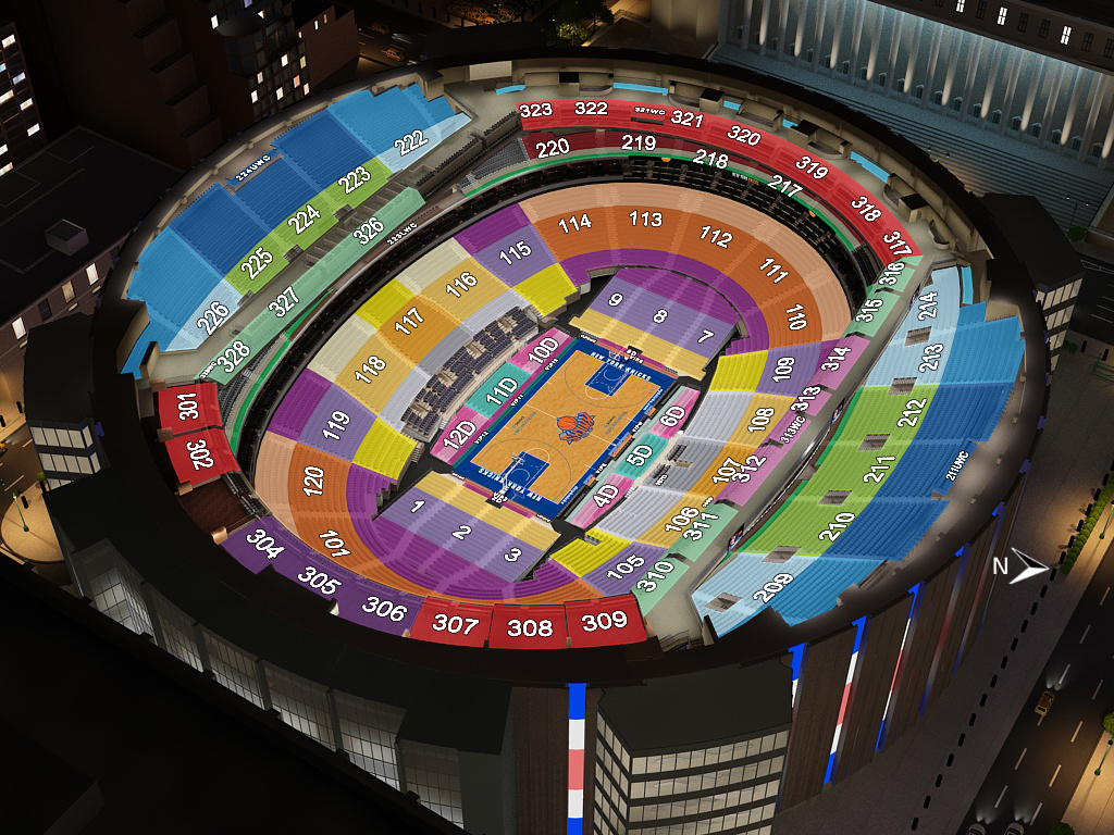 New york knicks virtual venue by iomedia