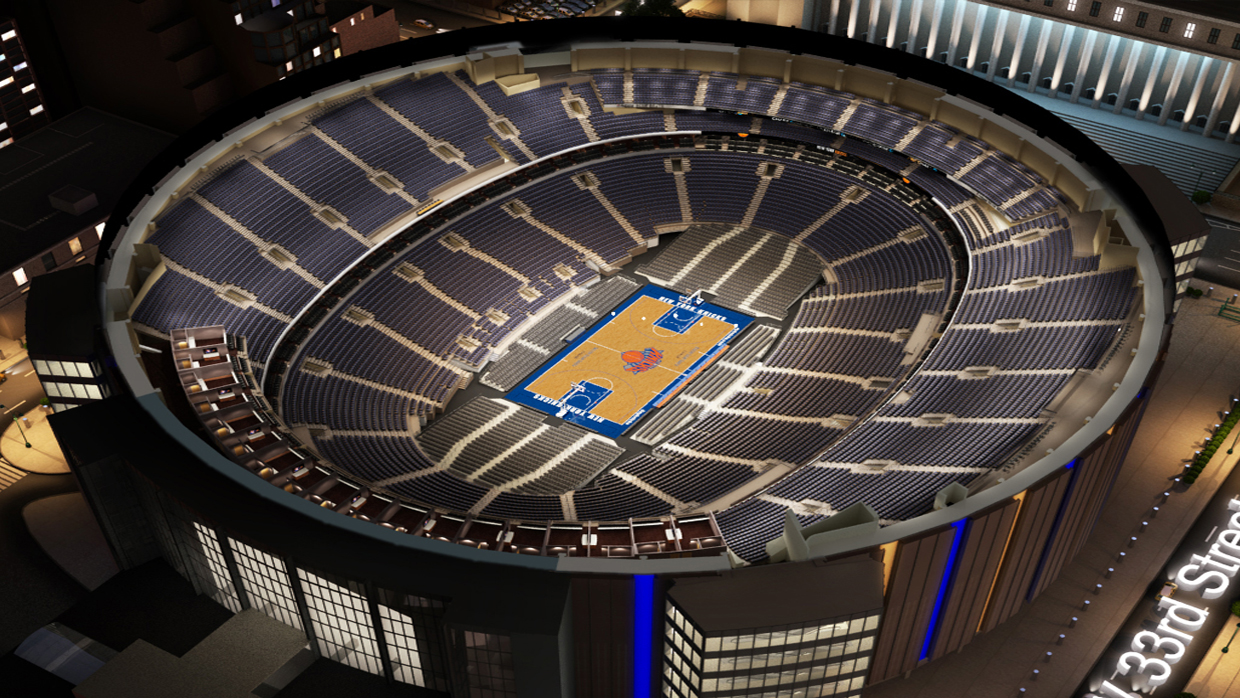 Marvelous New York Knicks Virtual Venue™ By IOMEDIA Nice Ideas